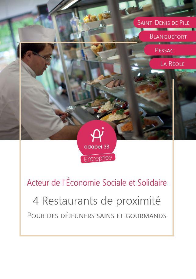 4 restaurants de proximité