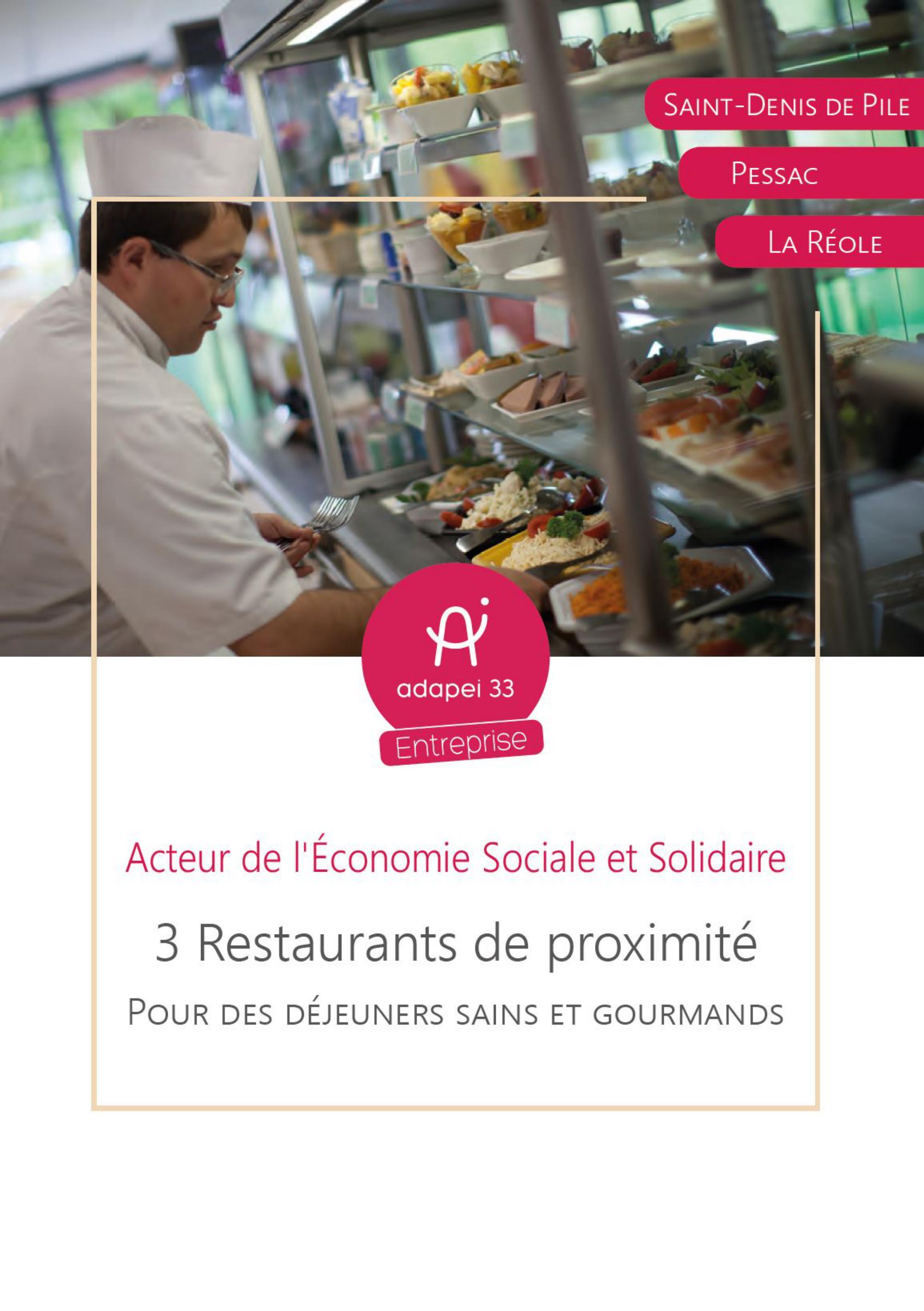 3 restaurants de proximité