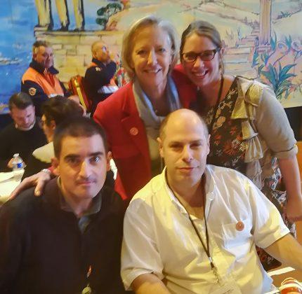 Une délégation Girondine au 8ème Congrès Nous Aussi