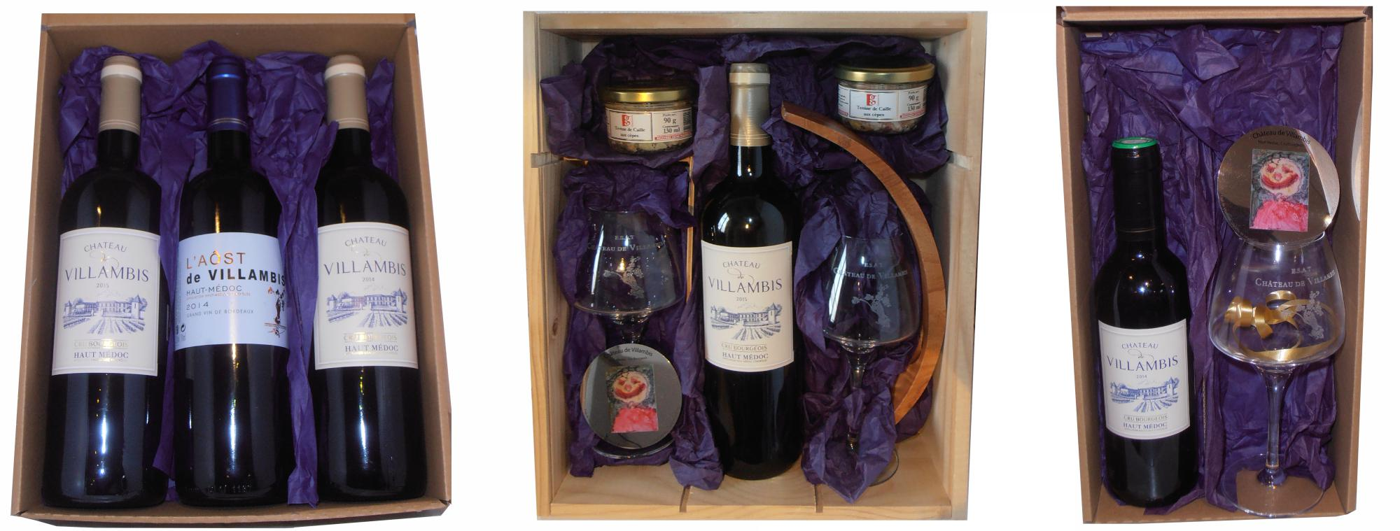 Offrir un coffret de vin&#8230; <br>LA bonne idée cadeau !