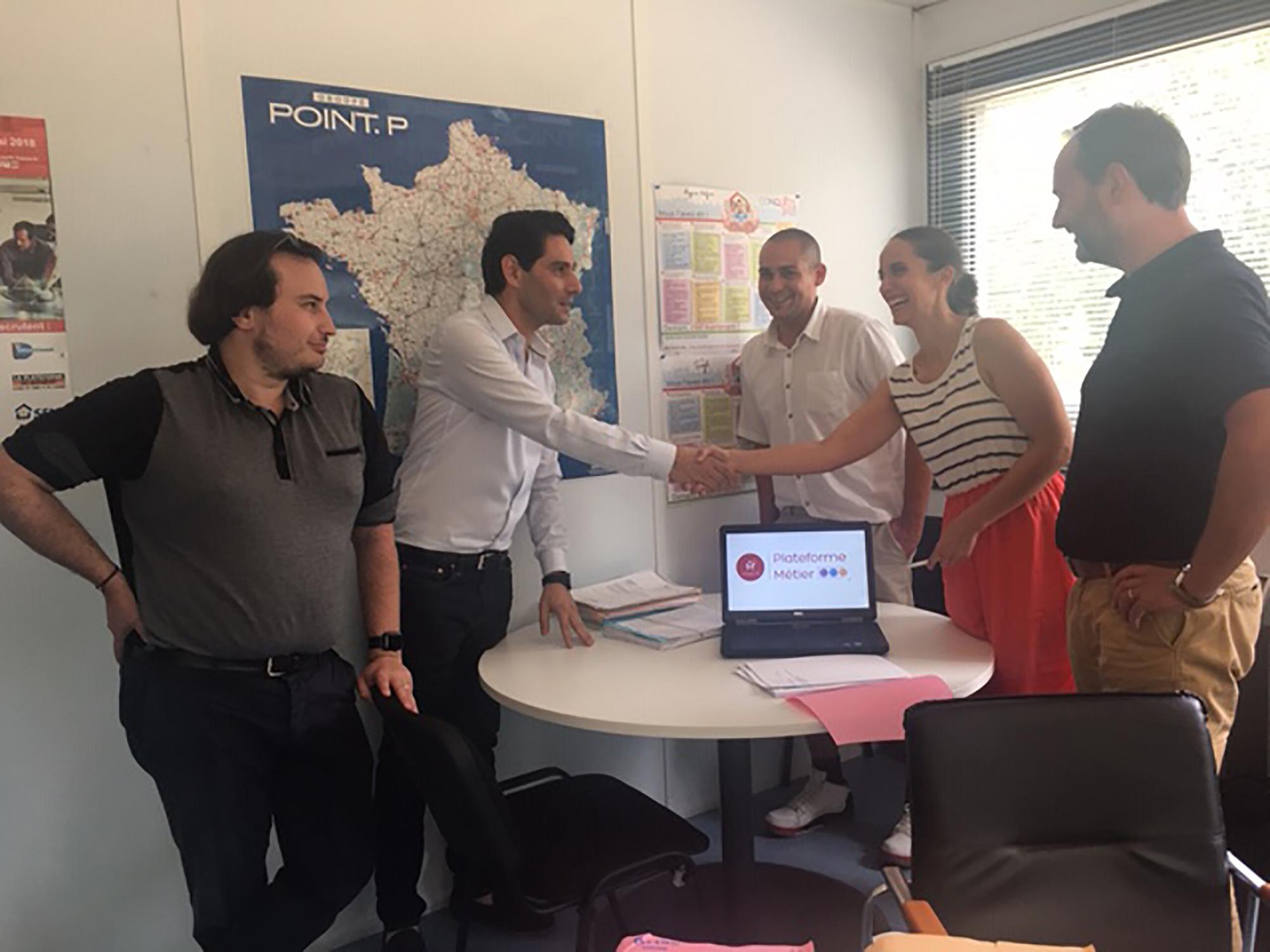 La Fondation Saint-Gobain soutient le projet de la plateforme métier Espaces Verts