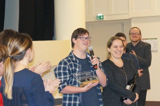 L'Adapei s'est mobilisée <BR>pour la Semaine Européenne pour l'Emploi des Personnes Handicapées