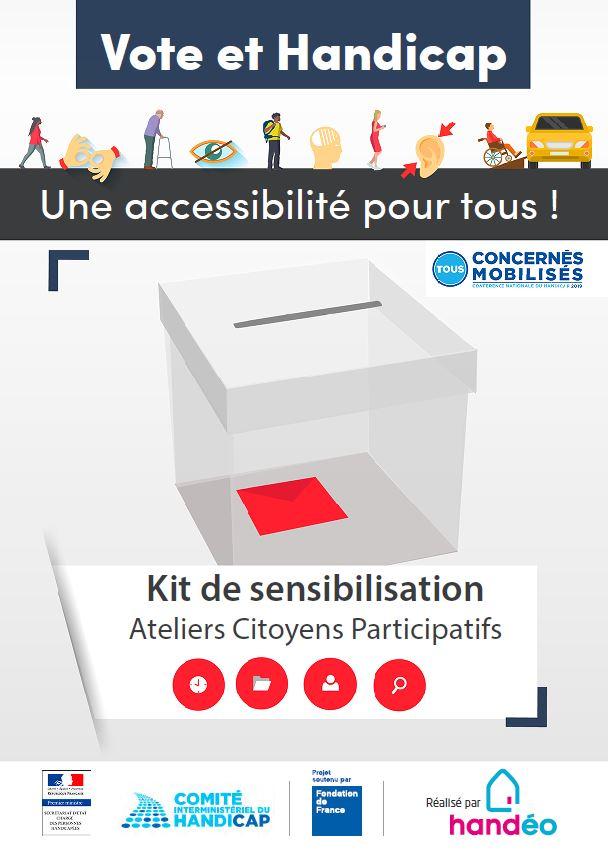 Vote et handicap : Une accessibilité pour tous !