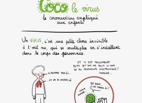 Le coronavirus expliqué simplement !