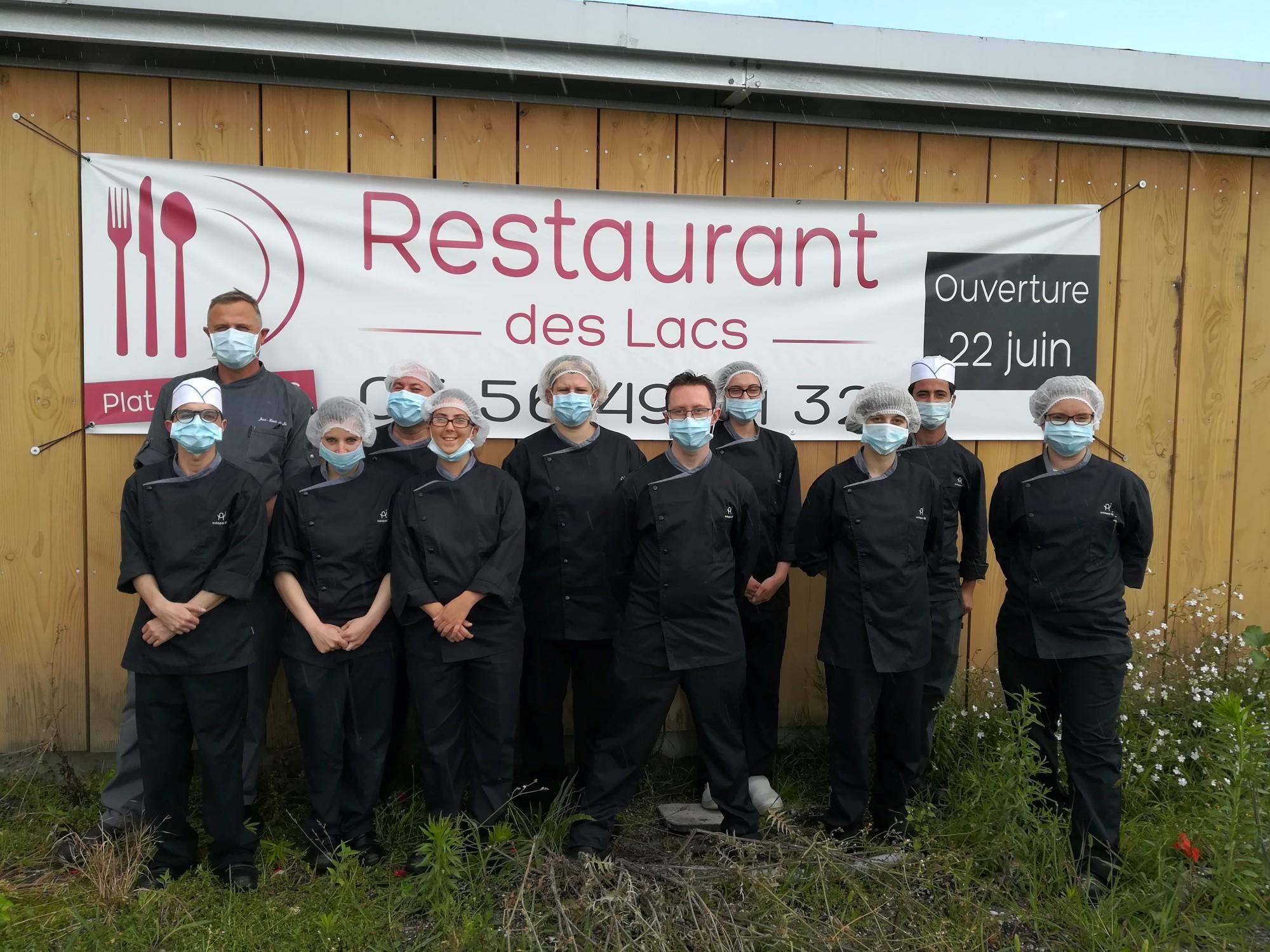 Ouverture du restaurant des Lacs à Blanquefort le 22 juin