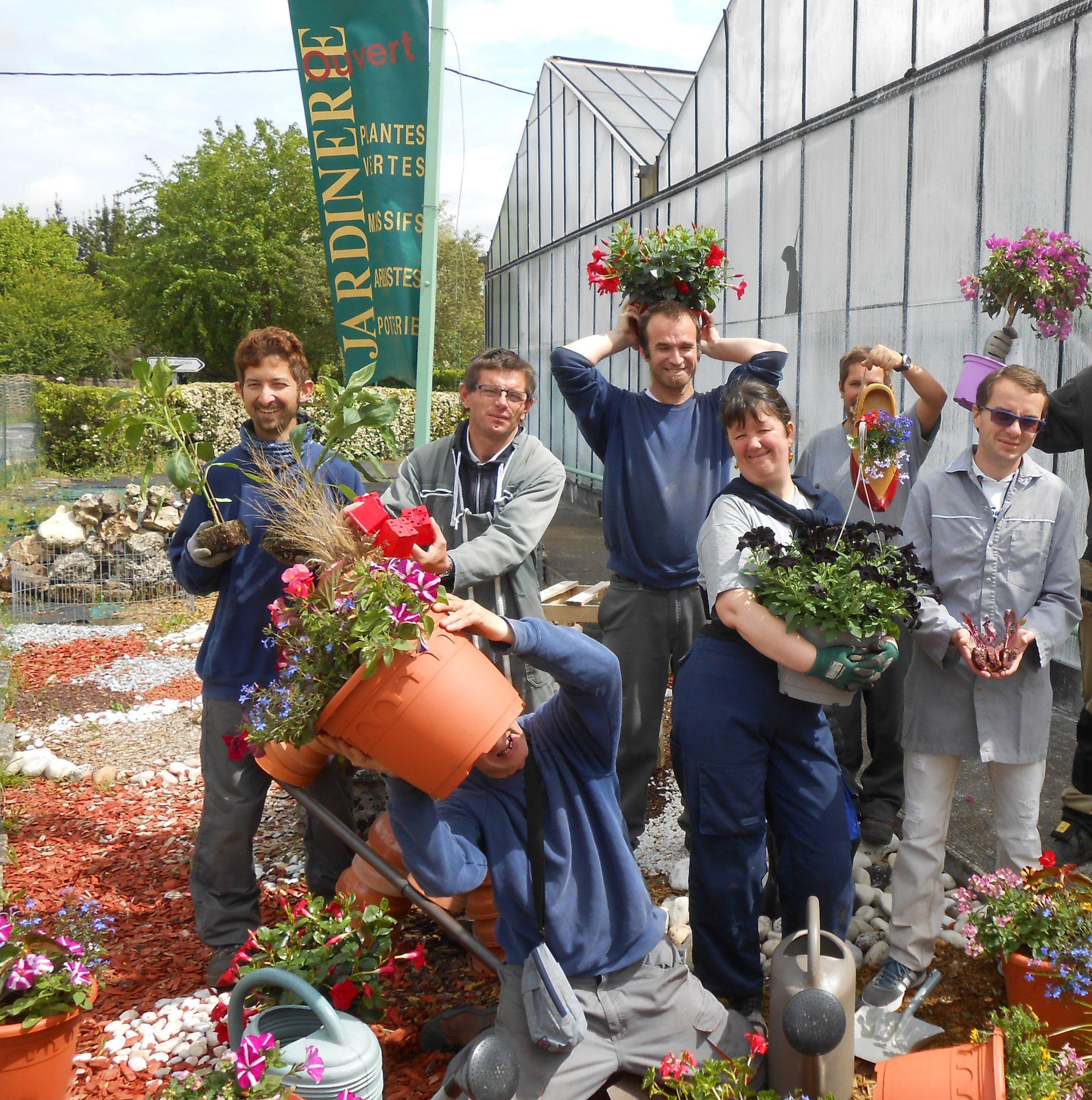 Vos jardineries et serres continuent de vous fleurir… <br>en click & collect !