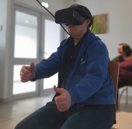 Réalité virtuelle…