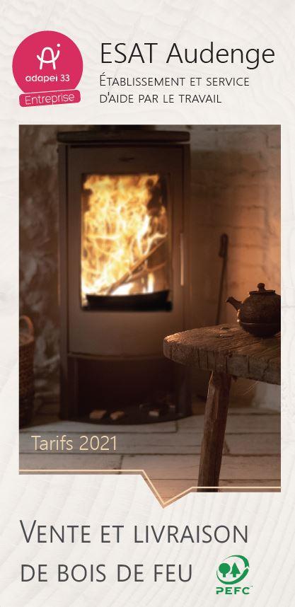 Tarifs Bois de feu 2021