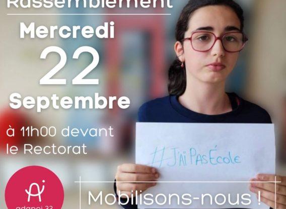 3ème semaine sans école pour les 15 jeunes accompagnés par l'IME de Blaye