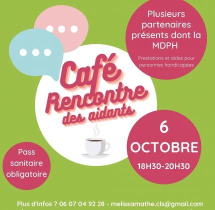 Café-rencontre des aidants en Haute-Gironde