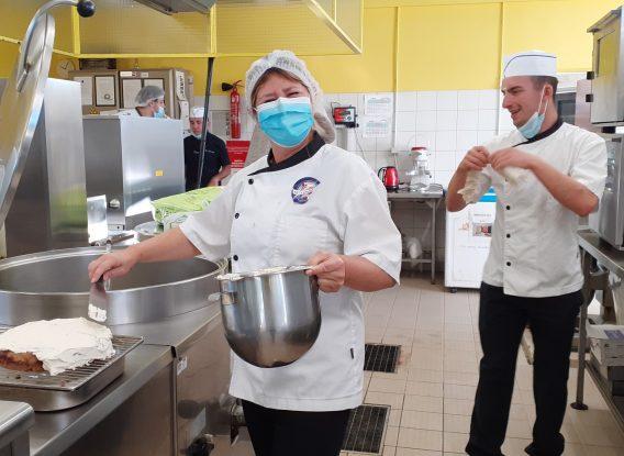 Le restaurant de l'IRTS se mobilise pour les Erasmus days