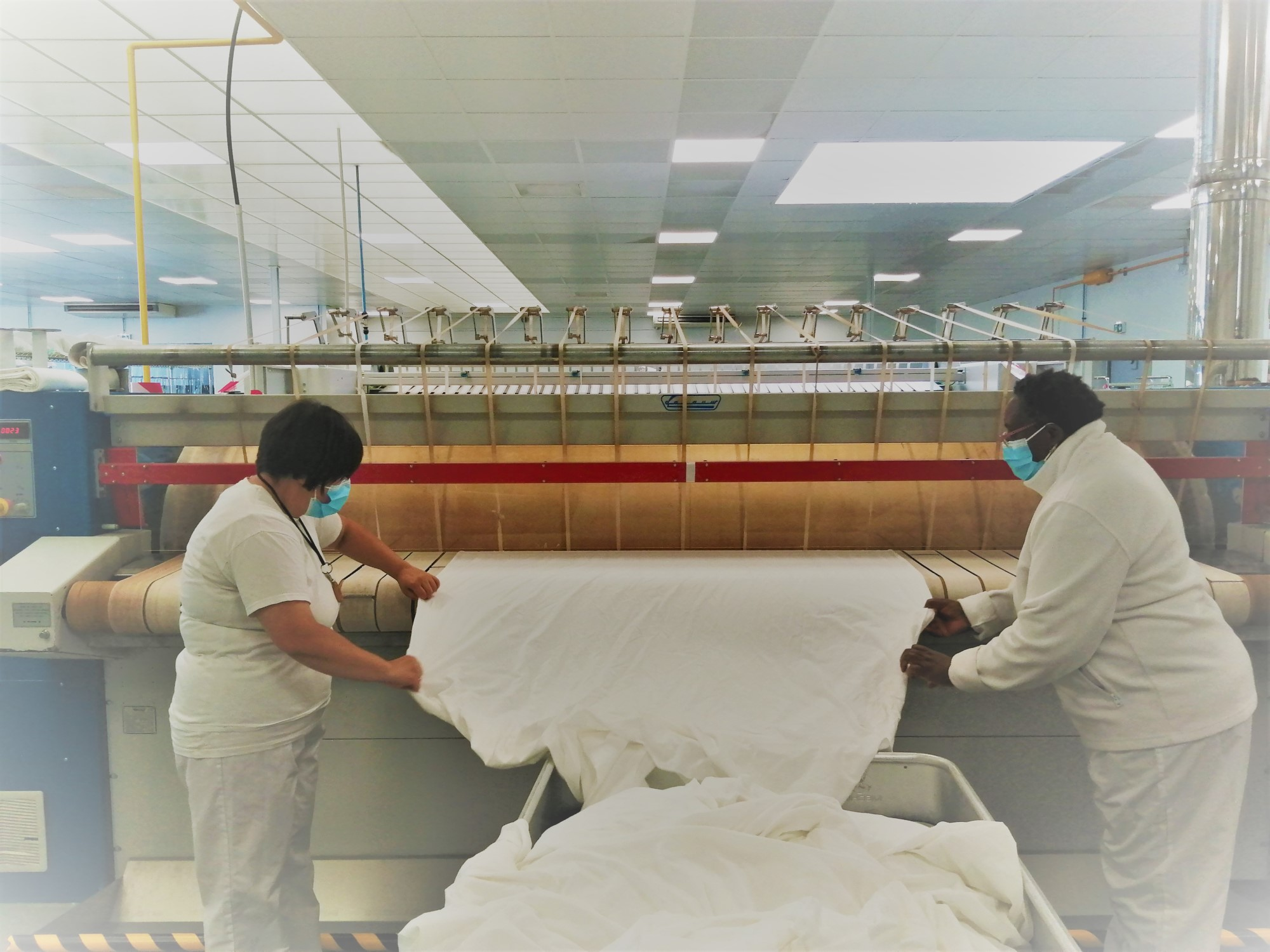 La blanchisserie de l'ESAT d'Audenge se modernise !